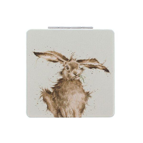 Hare Compact Mirror