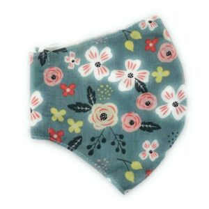 Pastel Floral Face Covering