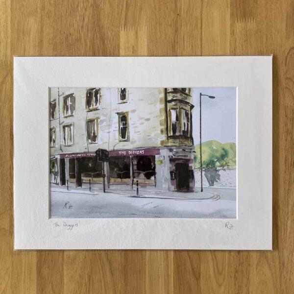 the diggers pub