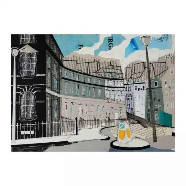new town edinburgh print