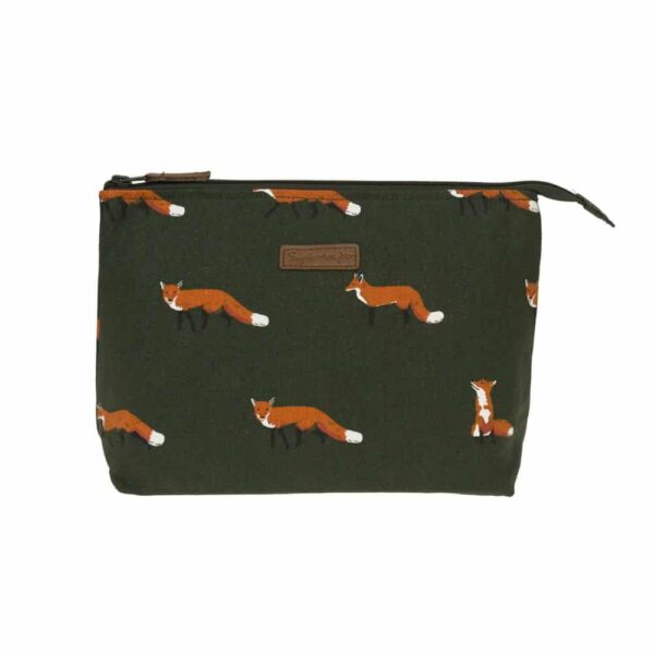 Fox Canvas Washbag