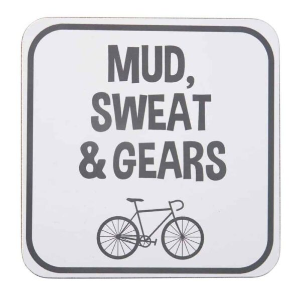 mud seat & gears coaster