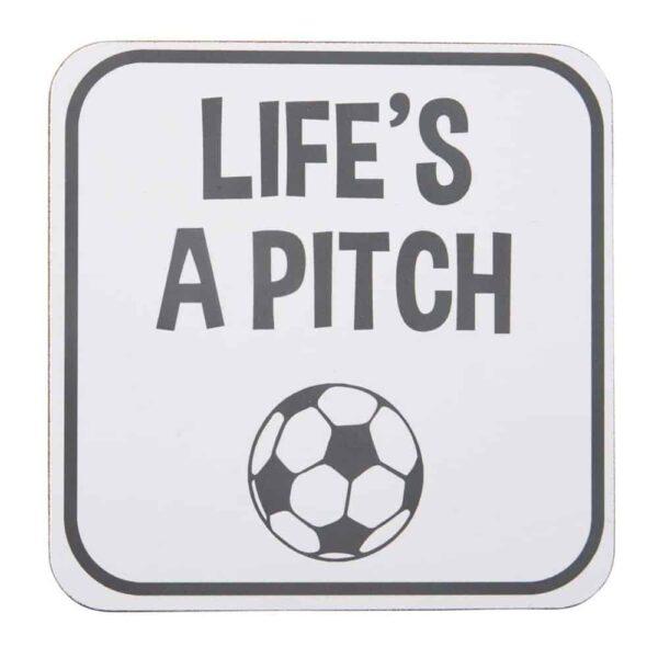 coaster life's a pitch