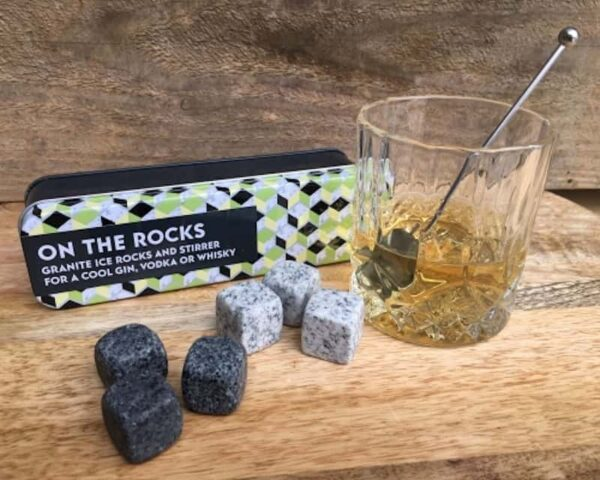 on the rocks with whisky