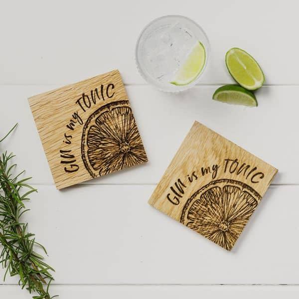 gin is my tonic coasters