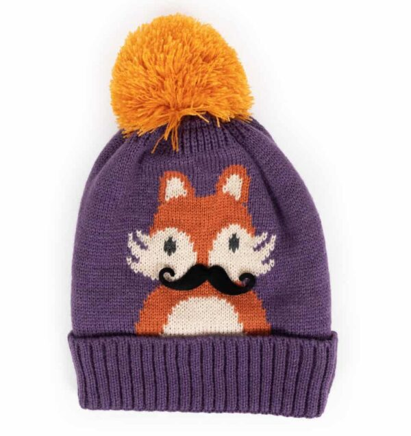 fox damson hat