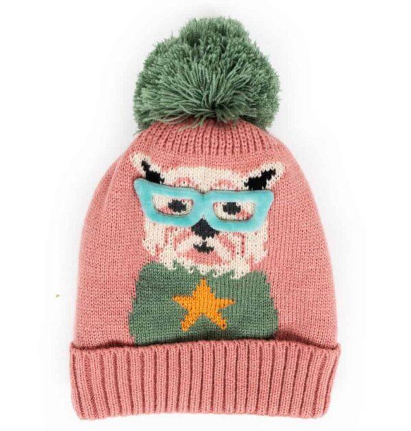pink westie terrier hat
