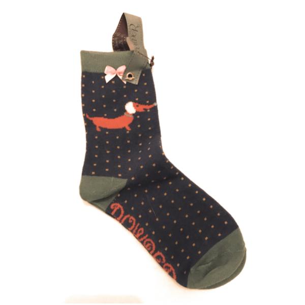 scottie and sausage dog socks