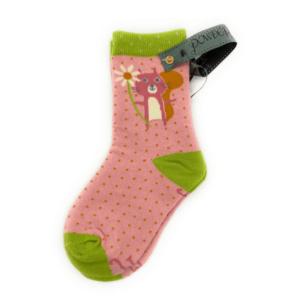 pink squirrel socks