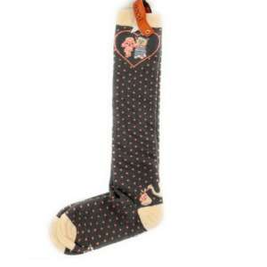 poodle and terrier socks