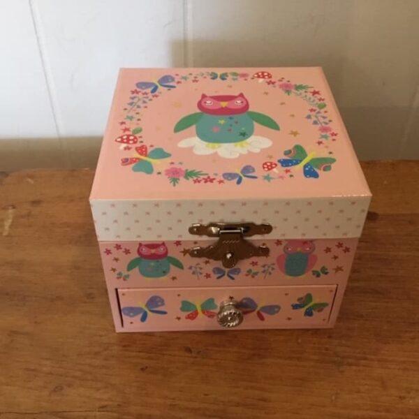 owl jewellery box