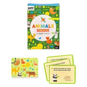 Animals Trivia Cards