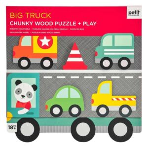 Big Truck Chunky Wood Puzzle