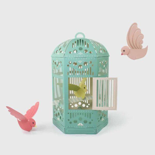Beautiful Birdcage inside