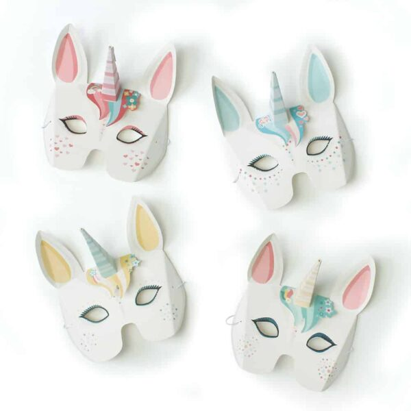 Magical Unicorn Masks