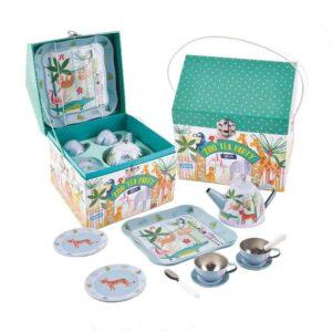 zoo tea set