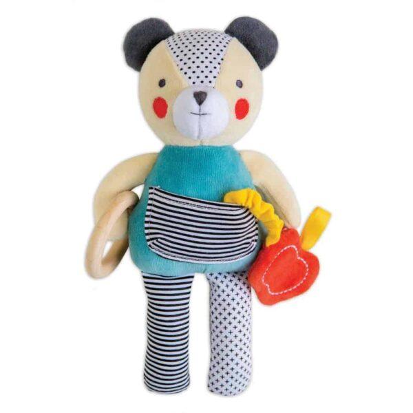 Organic Busy Bear Activity Toy