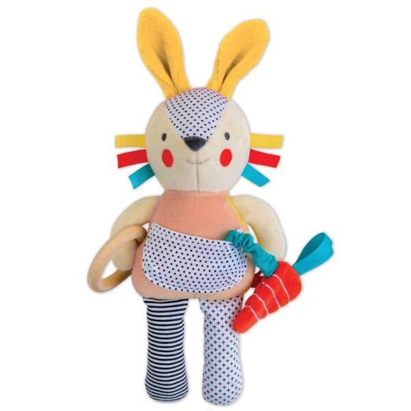 Organic Busy Bunny Activity Toy