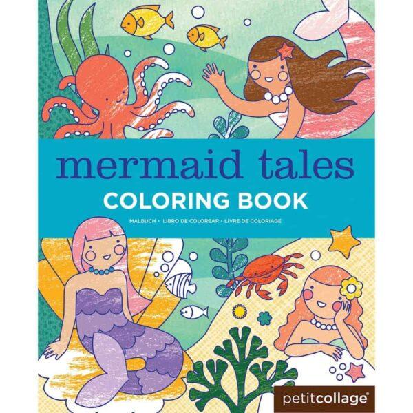 mermaid colouring book