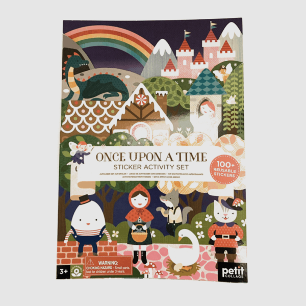 once upon a time sticker book