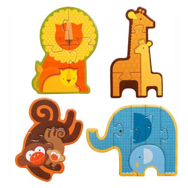 Beginner Puzzle Safari Babies
