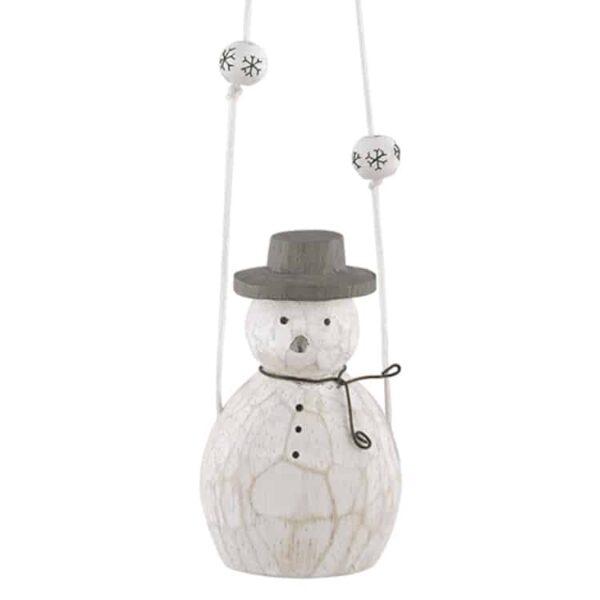 mobile snowman
