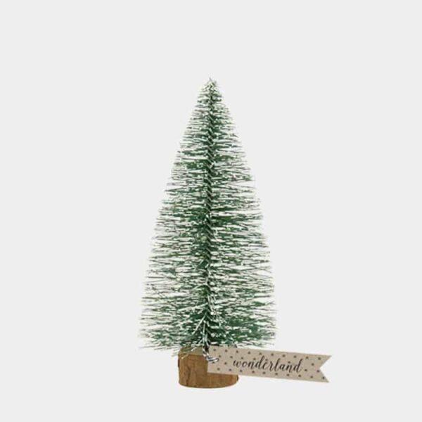 large bottle brush christmas tree