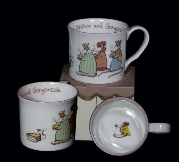 cheddar Christmas mug
