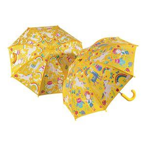 colour changing umbrella - rainbow fairies