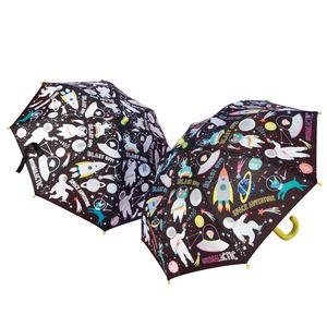 colour changing umbrella - space