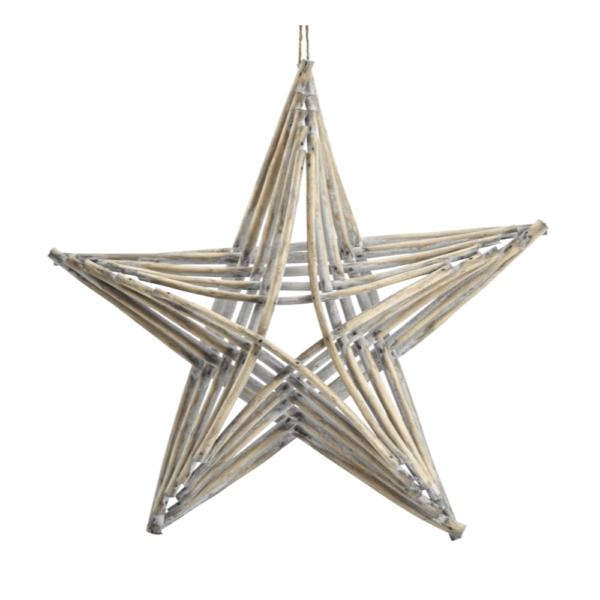 large driftwood star