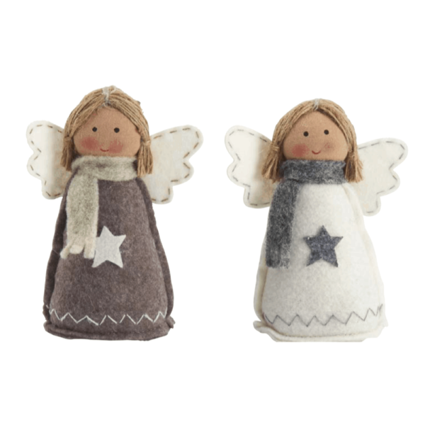 felt xmas angel