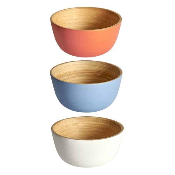 small bamboo bowls