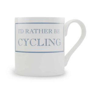 rather be cycling mug