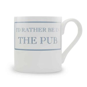 rather be in the pub