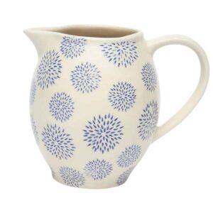 blue dahlia jug