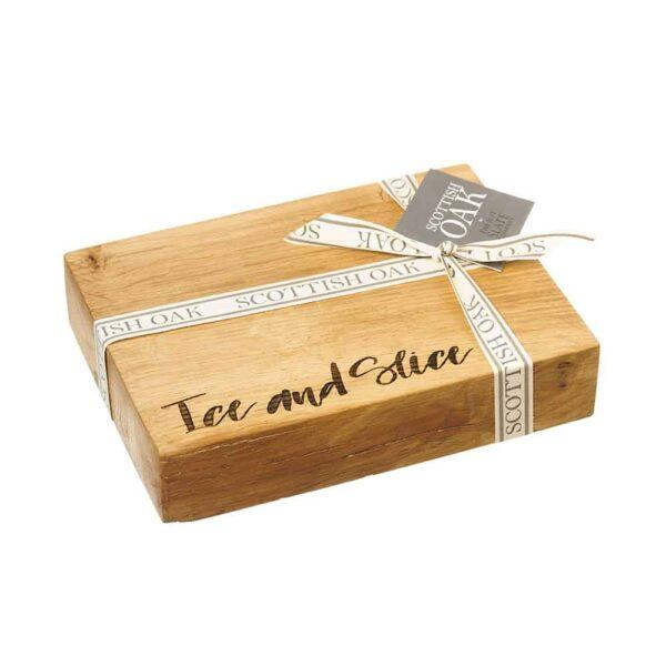 oak ice and slice hopping board