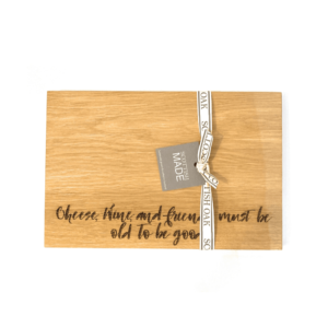 oak cheese wine friends board