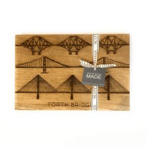 forth bridges oak chopping board