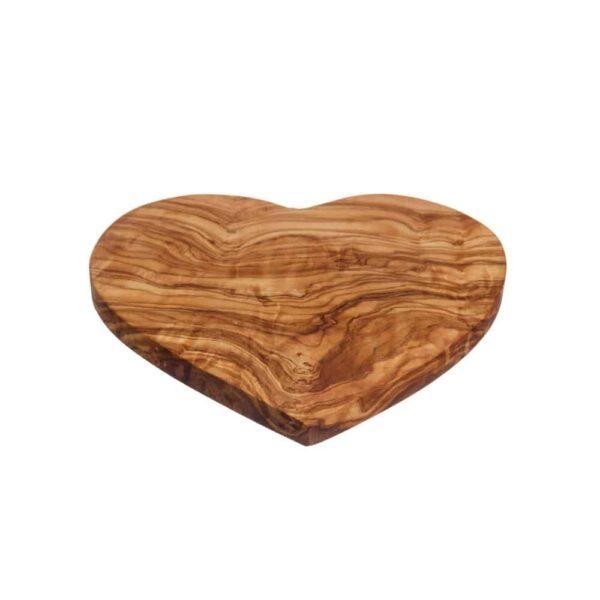 heart shaped serving board