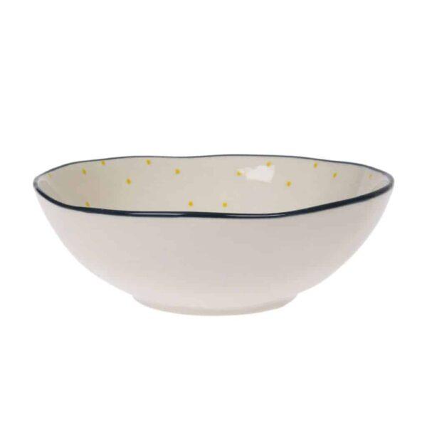bees stoneware bowl