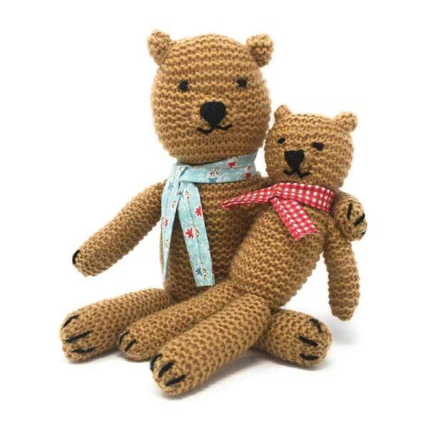 knit your own teddies