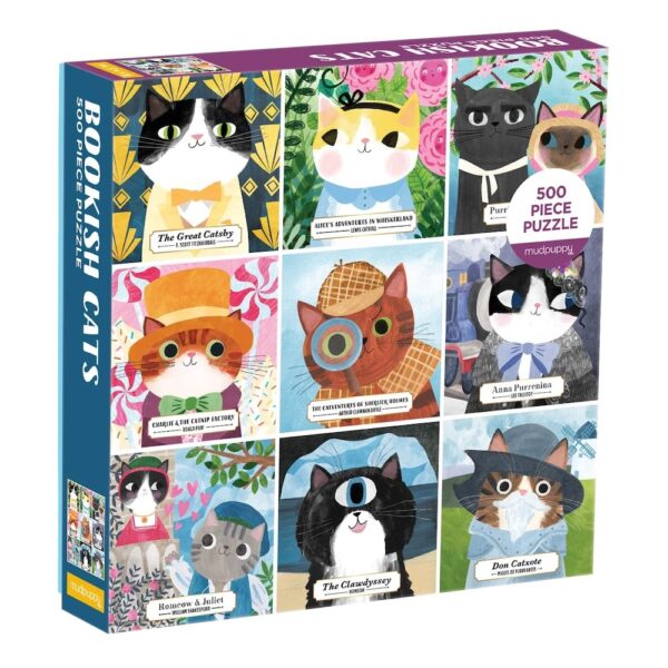 Bookish Cats Jigsaw Puzzle