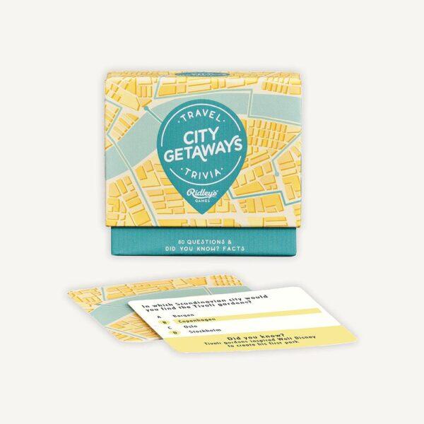 City Getaways Trivia Game