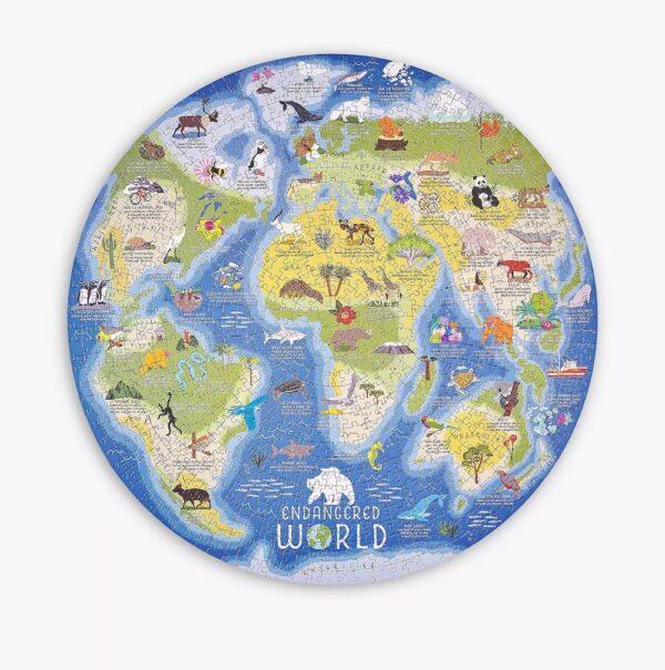 Endangered World Jigsaw