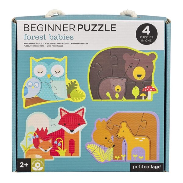 Beginner Forest Babies Puzzle