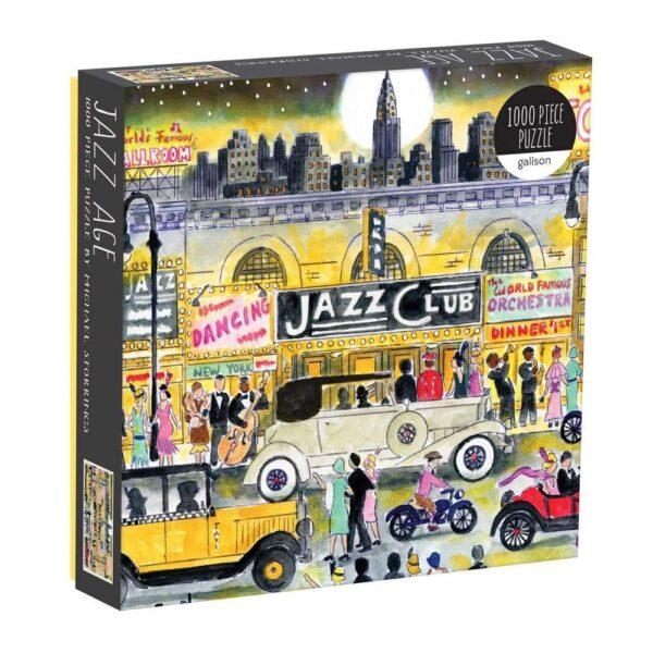 Jazz Age Jigsaw Puzzle