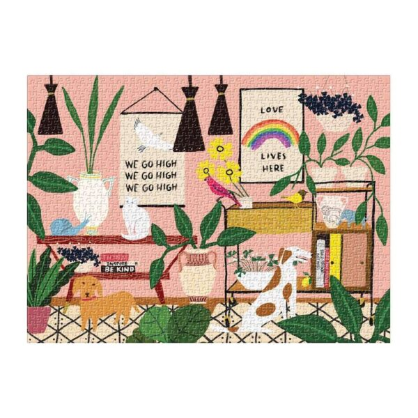 Love Lives Here Jigsaw Puzzle