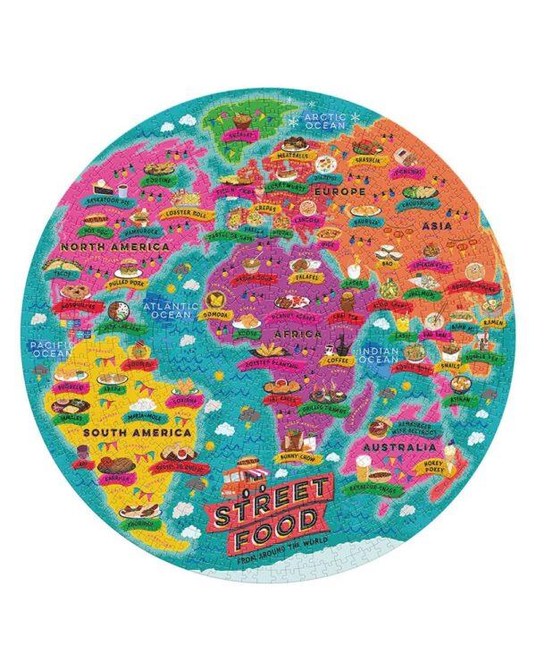 Street Food Of The World Jigsaw