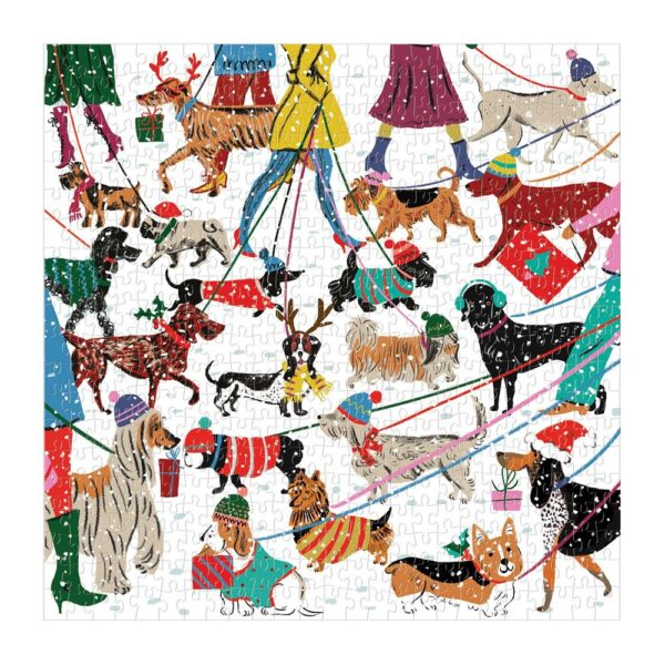 Winter Dogs Jigsaw Puzzle
